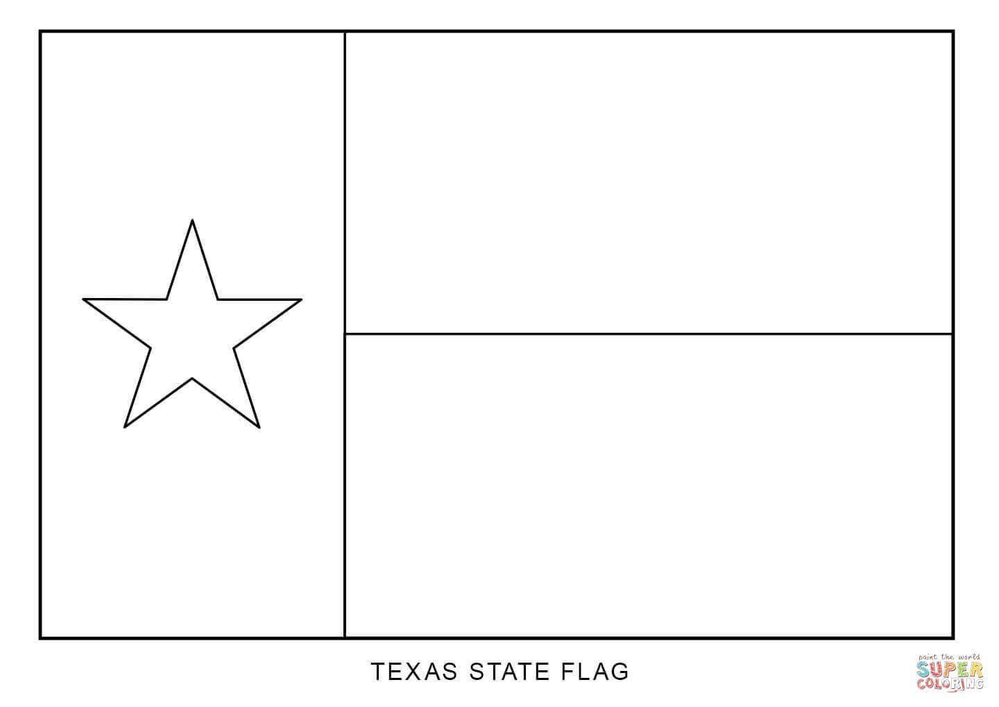 Texas State Flag Coloring Page Free Printable Coloring Pages Flag Coloring Pages Flag Printable American Flag Coloring Page