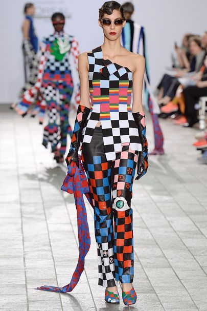 Saint Martins Ba Autumn/Winter 2015 Ready-To-Wear  (prints and color)