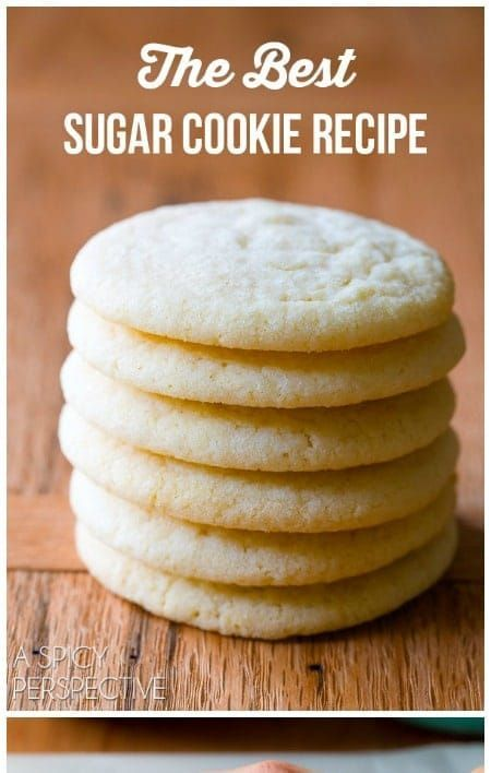 down the Best Sugar Cookie Recipe weve ever tasted Learn How to Make Sugar Cookies that everyone will love Light pillowy  packed with flavorHands down the Best Sugar Cook...
