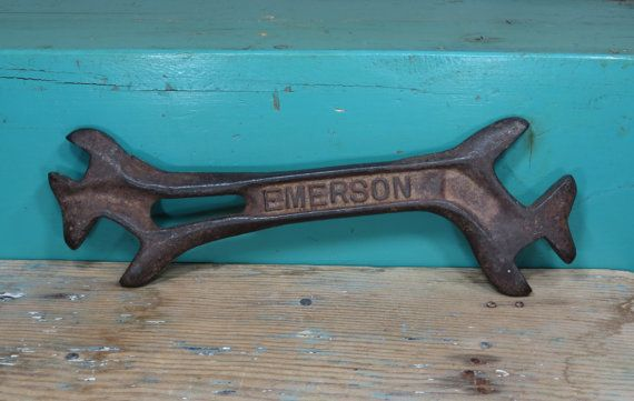 Antique Emerson Implement Wrench Multi Farm by 13thStreetEmporium