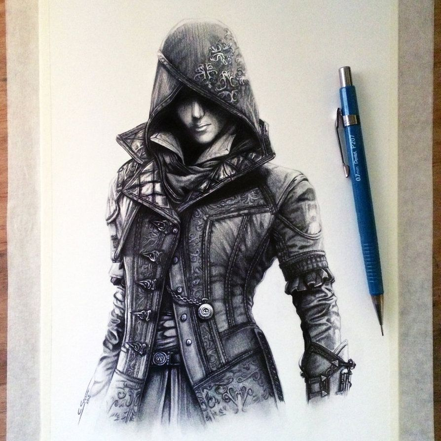 Evie Frye Drawing Assassin S Creed Syndicate Assassins Creed