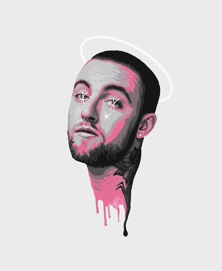 macmiller macmiller (With images) Mac miller tattoos