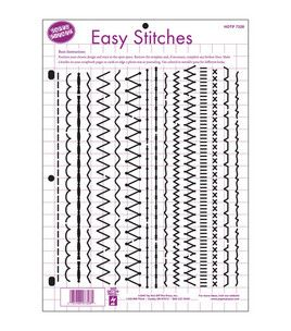 Hot Off The Press 8-1/2''x11'' Templates - Easy Stitches