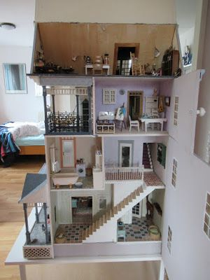 Margriet's Miniatures - Oscar and Mairead's home