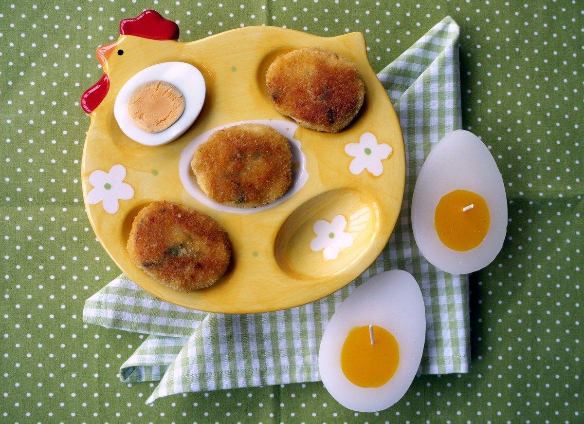 O jari - Vyprážané vajíčka #spring #eggs #recipe #recept #jar #vajíčka