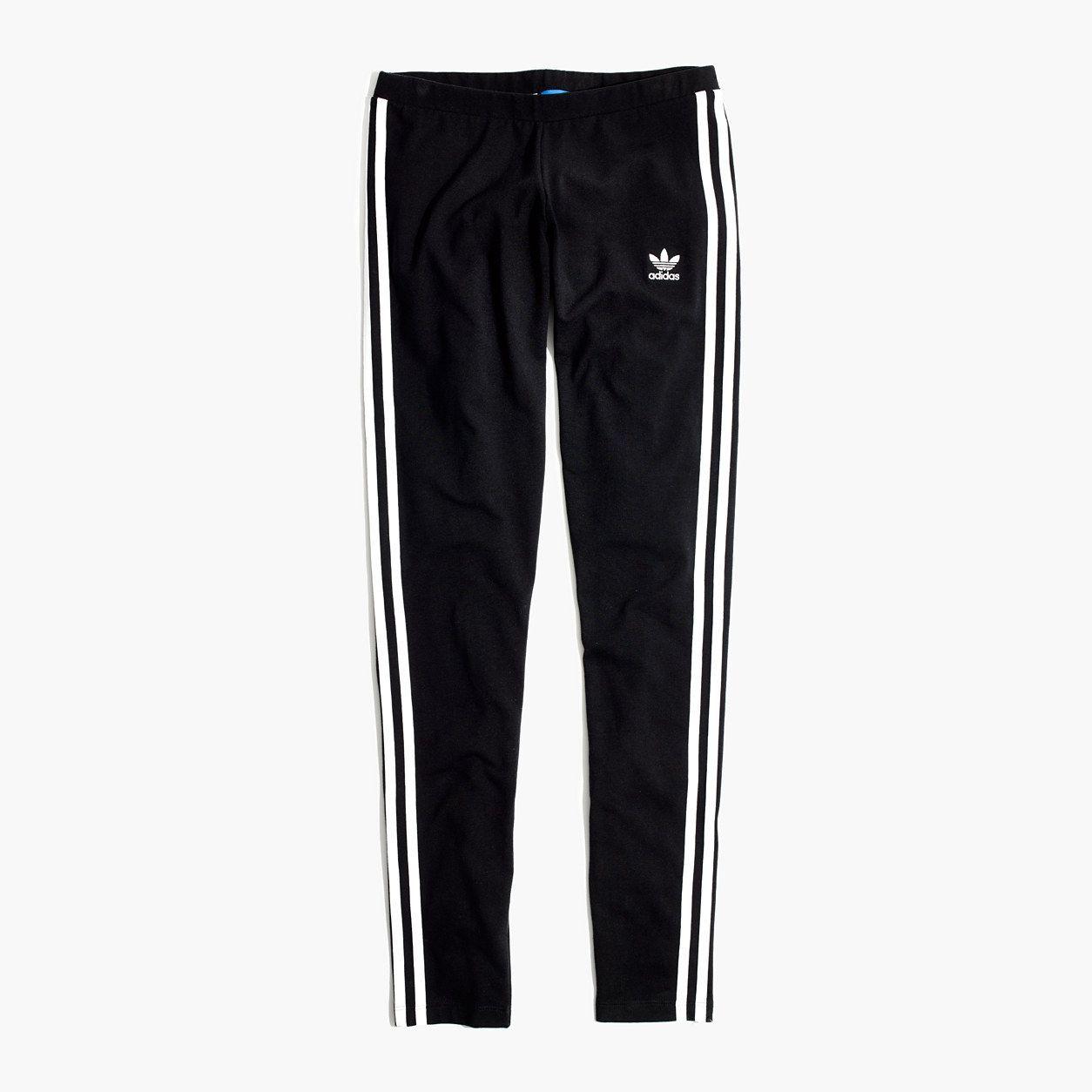 Madewell Womens Adidas Originals 3-Stripes Leggings