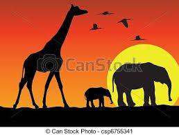 Resultado De Imagen De Dibujos Sobre Kenia Art Africa Silhouette Stencil