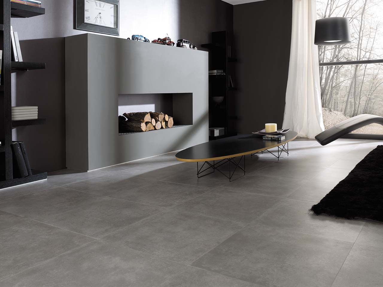 piso l nea ston ker modelo rhin gris de porcelanosa para pisos y m s de quer taro. Black Bedroom Furniture Sets. Home Design Ideas