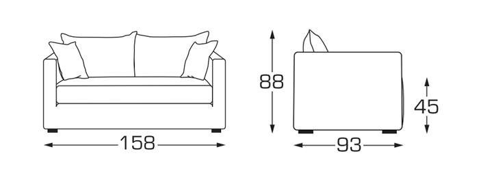 Comment Bien Choisir Son Canape Toutes Les Reponses Dimension Canape Canape Petit Canape 2 Places