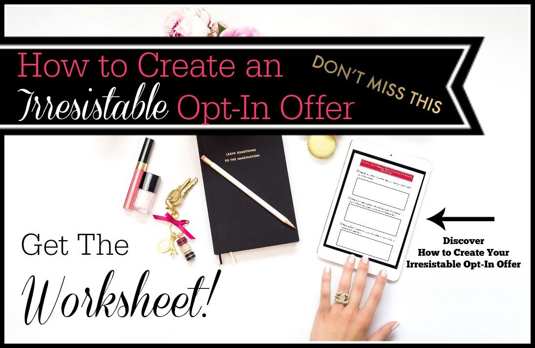 how to create an opt in email