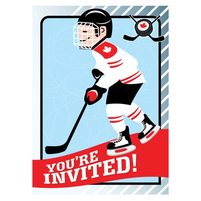 Hockey party invitation printable Crafts Jersey and Kid