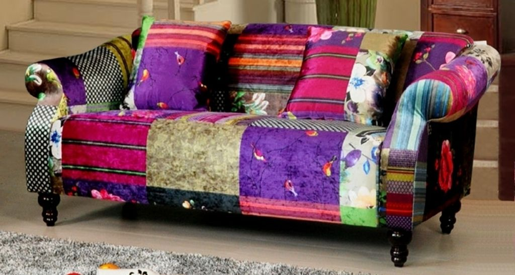 Anna Shout 1 Seater Luxury Fabric Patchwork Sofa Shout Corner Sofa Dfs Shout Corner Sofa Dfs Patchwork Sofa Sofa Design Corner Sofa
