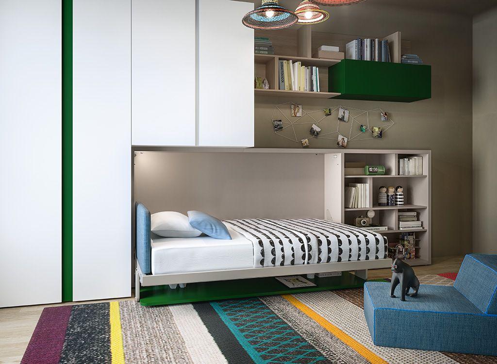 Hidden Desk under Bed: Expert Advice | Resource Furniture | 10 Great Ideas For Designing Kids Rooms