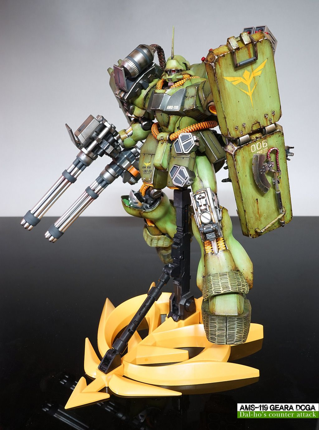 MG 1/100 AMS119 Geara Doga Customized Build (With