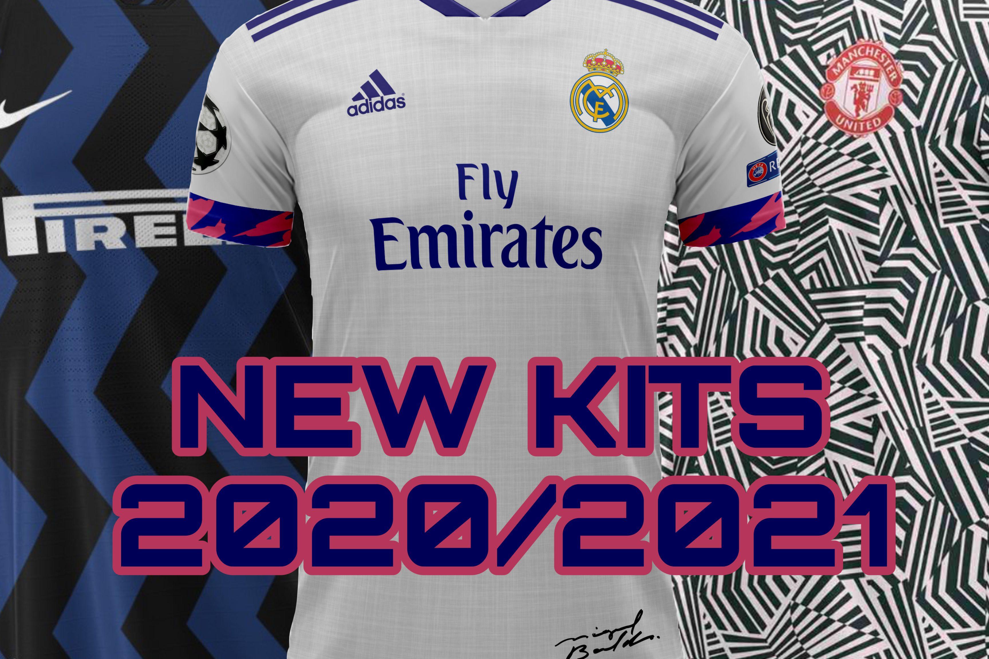 All New Football Kits 2020 2021 Football Kits Real Madrid Football