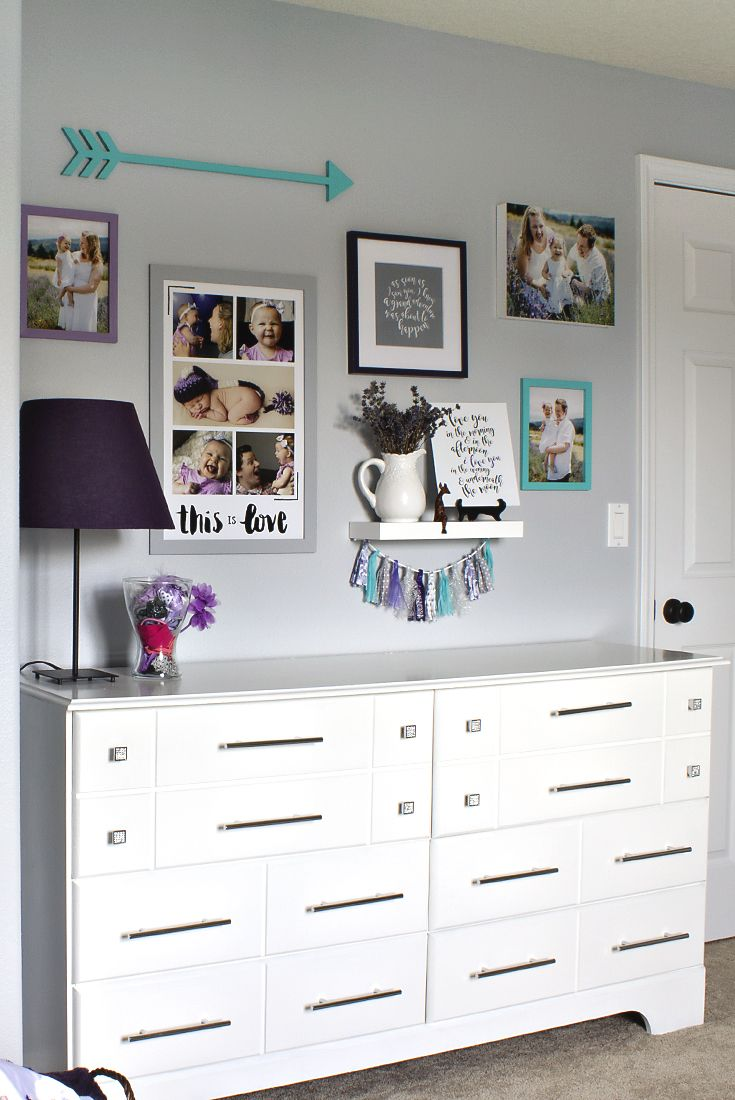 A Cute Toddler Girl Bedroom With Many Diy Ideas Wall Decor