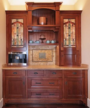 Love This For A Wet Bar Or Coffee Craftsman Look San