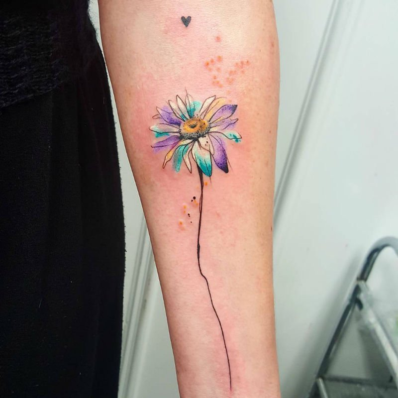 Abstract Daisy Tattoo: Abstract Sunflower Tattoo - Google Search