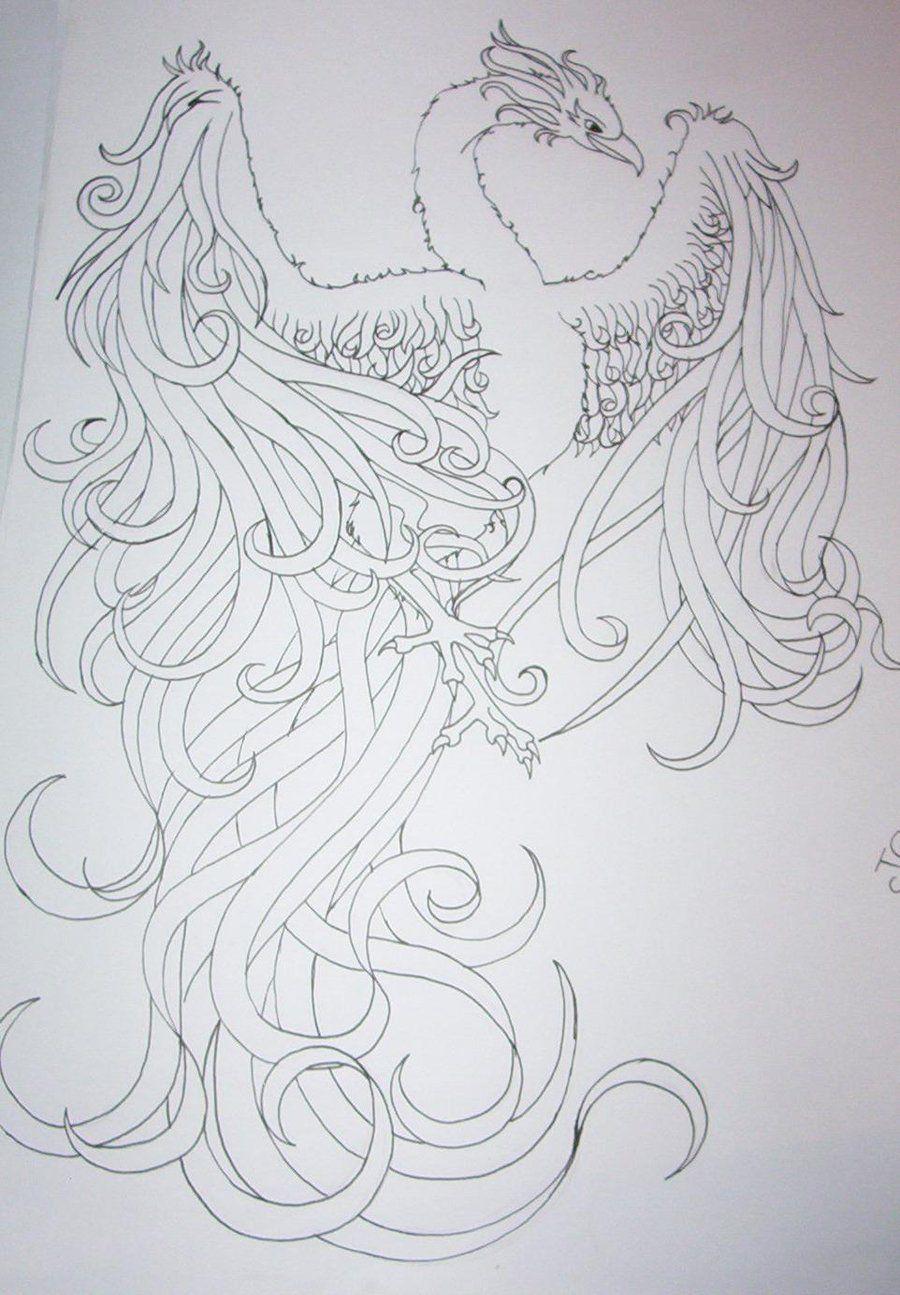 pheonix tattoo designs | phoenix tattoo design by ~tattoosuzette on ...