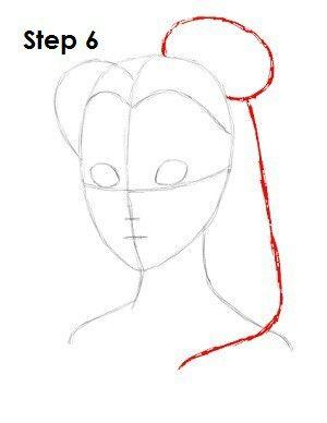 Verrassend How to draw Belle - Step 6 (met afbeeldingen) | Leer tekenen VQ-61