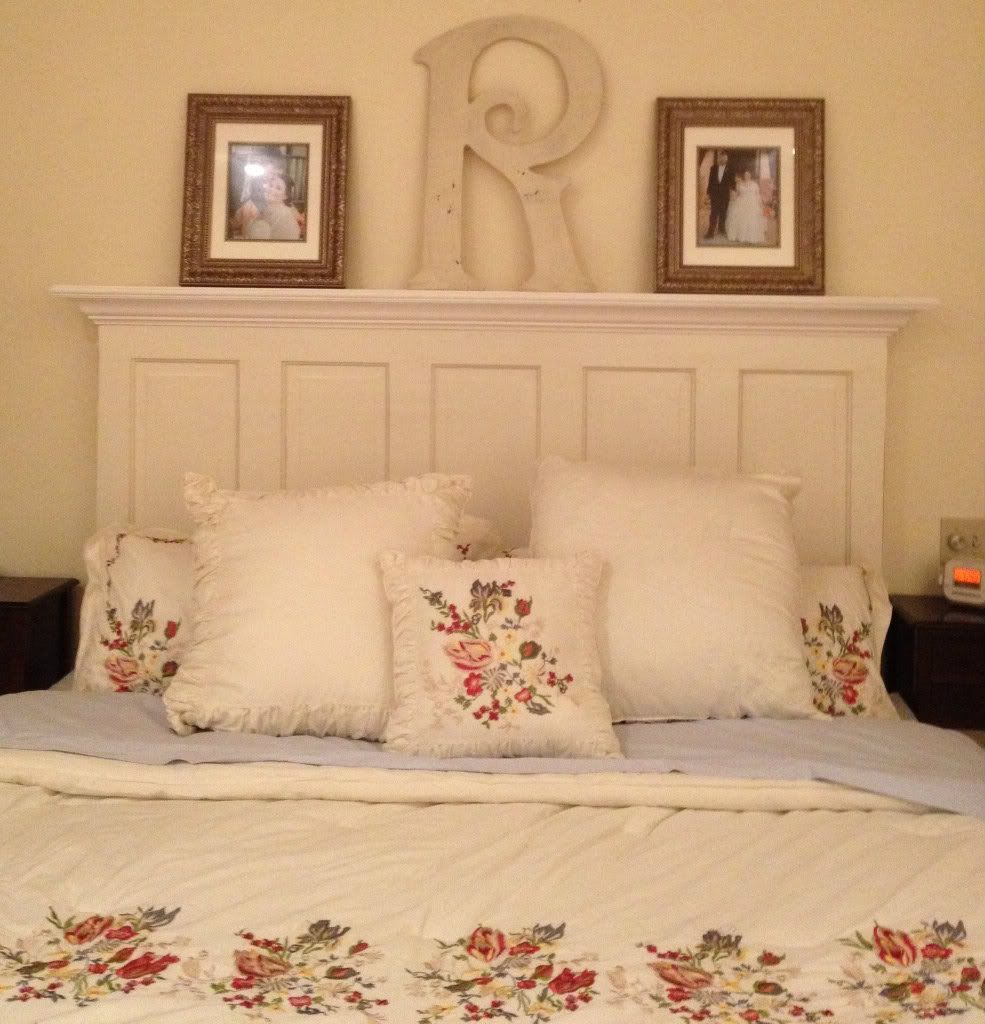 Oh, I love this headboard! Vintage Headboard 5 panel door headboard for a  king or queen size bed image by FriscoShabbyChic - Photobucket by Vintage  ...