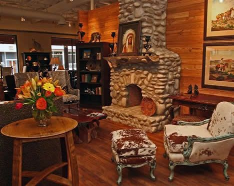 Rustic Furniture South Western Style Dallas Texas Doesn T Get Much Prettier Than This Cowhide And Aqua Cow
