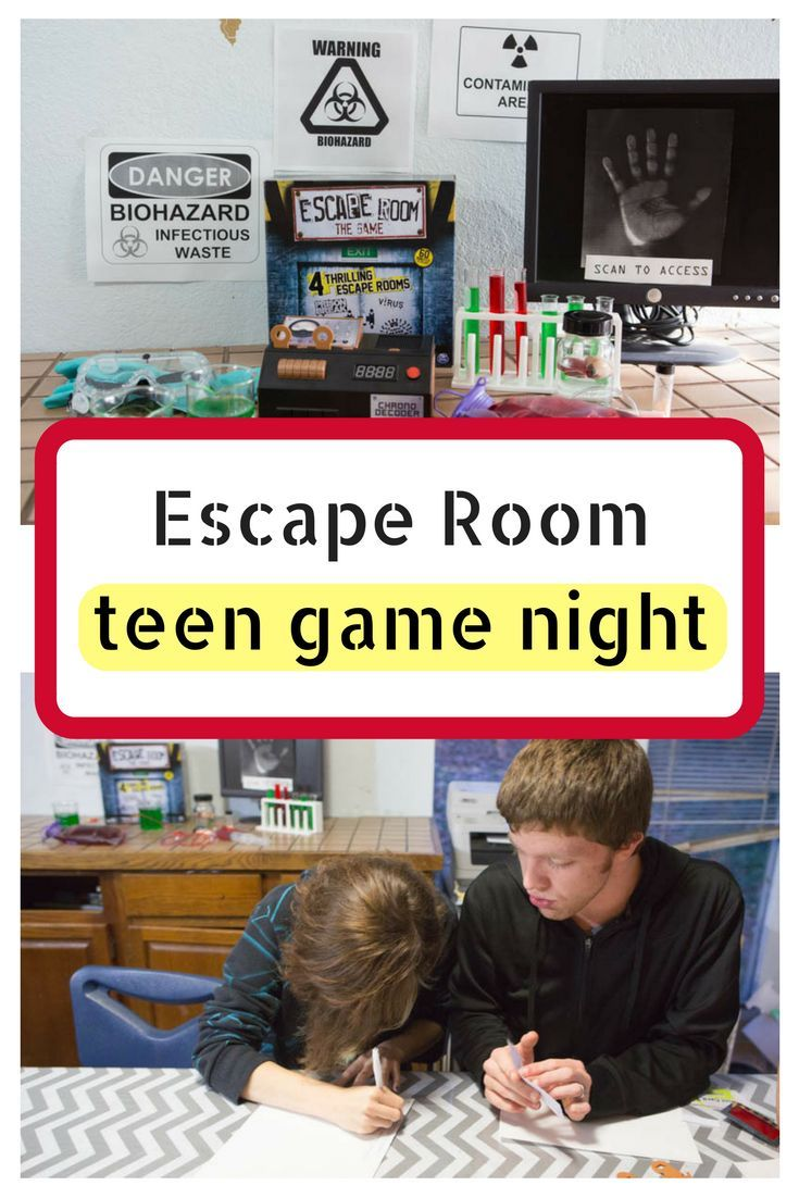 Escape Room Game Night At Home Pregnancy Babies Kids