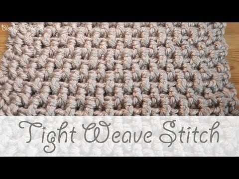 Super Chunky Crochet The Tight Weave Stitch Blankets Scarves