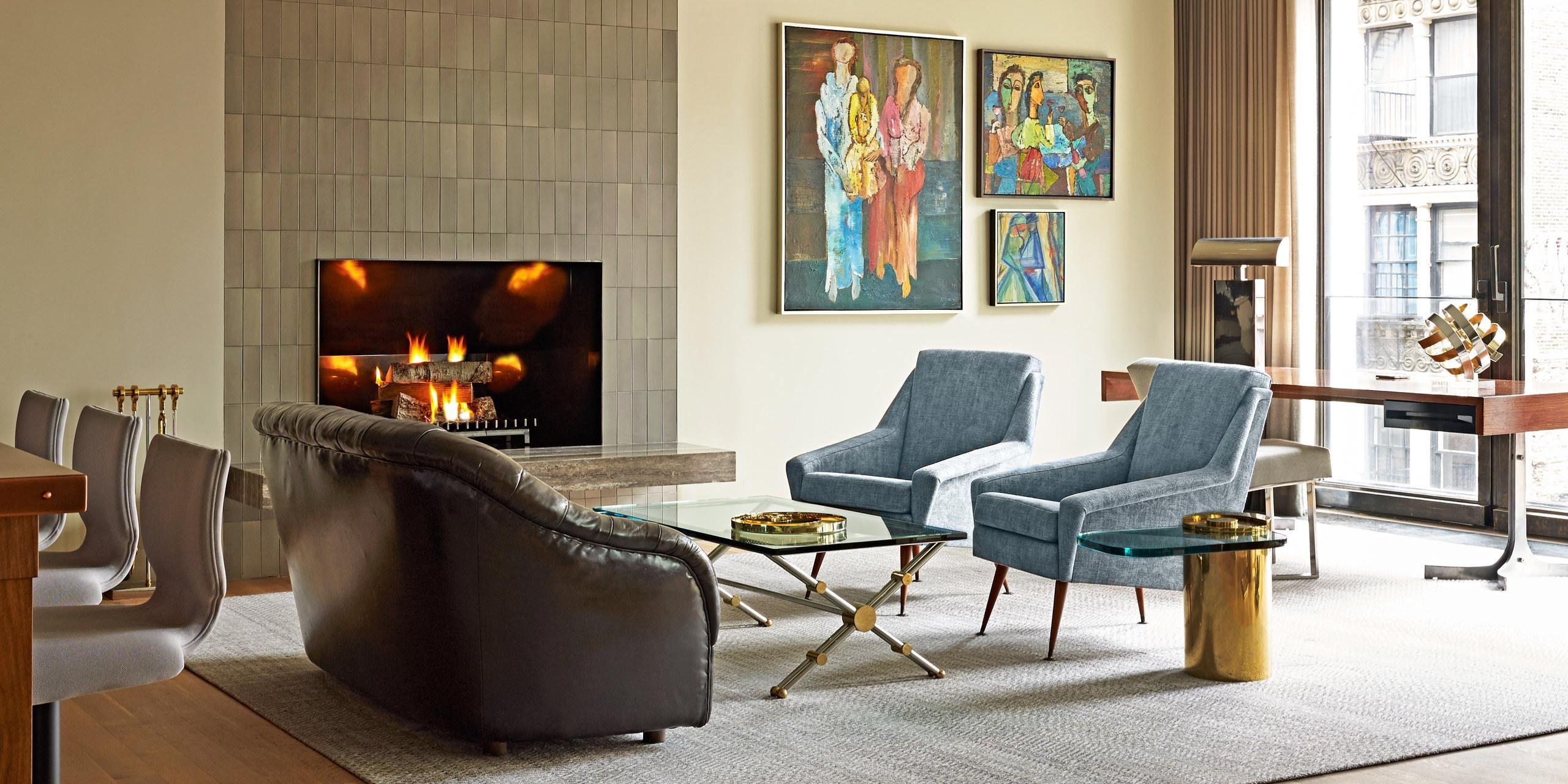 Elena Frampton New York City Home Tour | Vintage furniture ...
