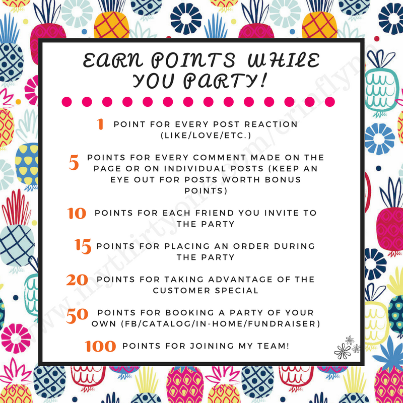 31 Party Points #facebookparty #thirtyoneparty #onlineparty ...