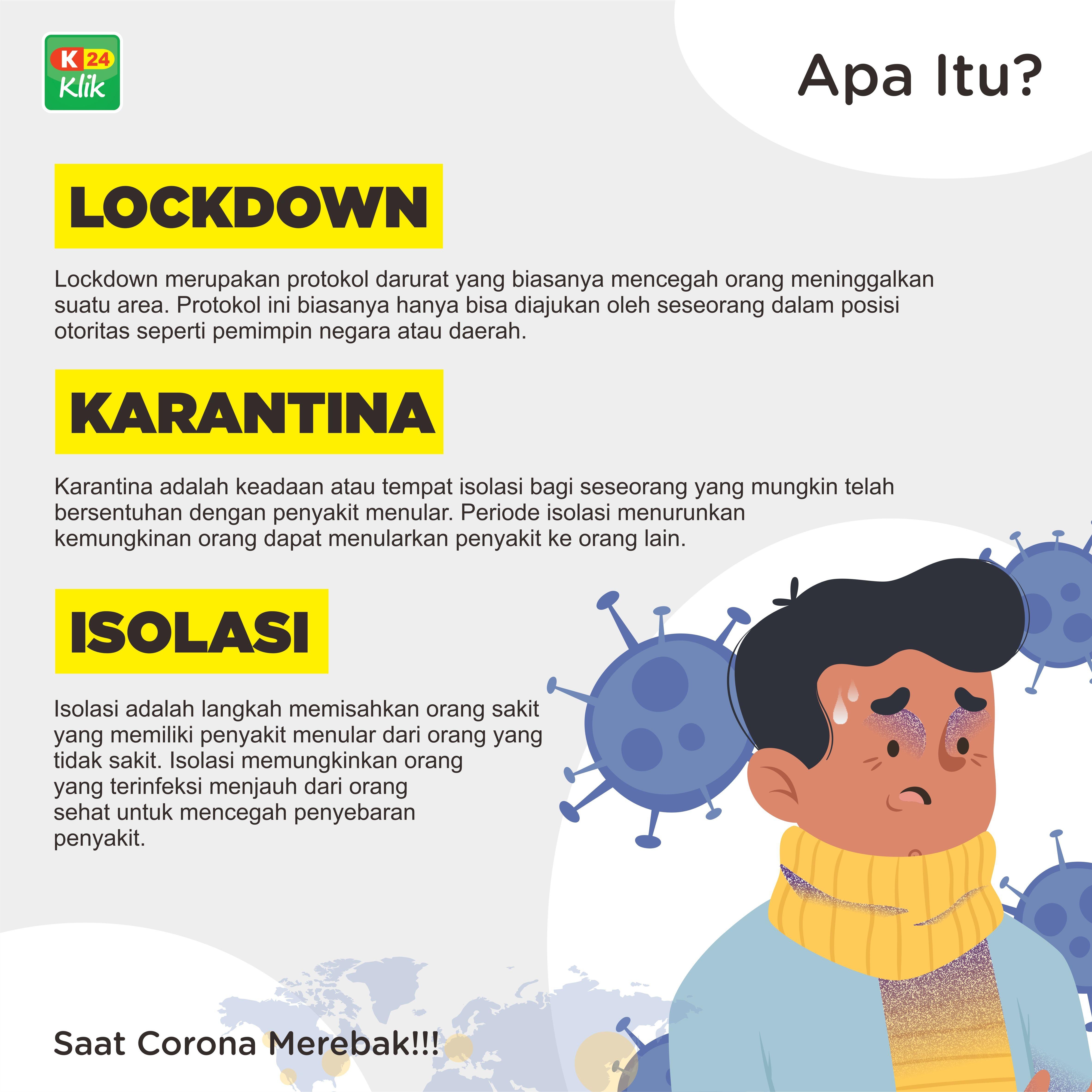 1. Lockdown merupakan protokol darurat yang biasanya ...