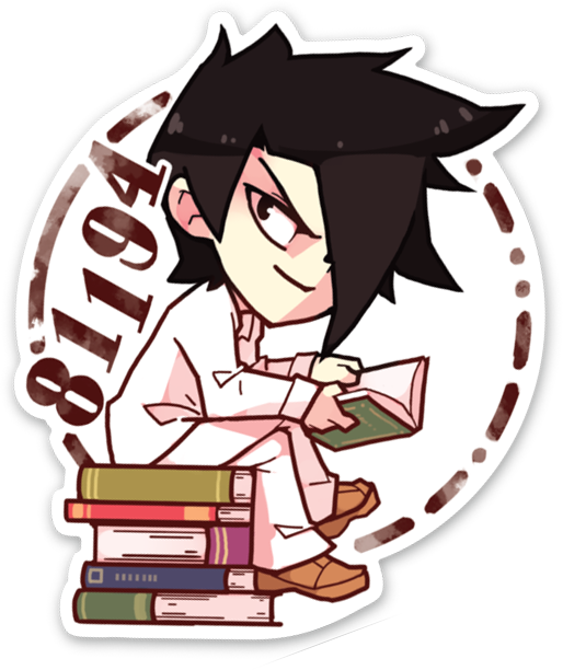 Ray Vinyl Sticker In 2020 Anime Stickers Cute Stickers Kawaii Stickers