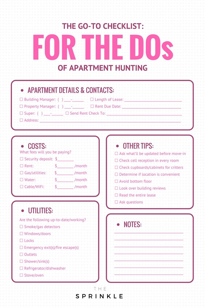 Apartment Hunting I Made These Mistakes So You WonT Have To