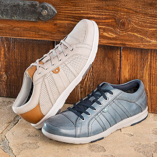 Casual, everyday sneakers for him with lightweight comfort he'll love!