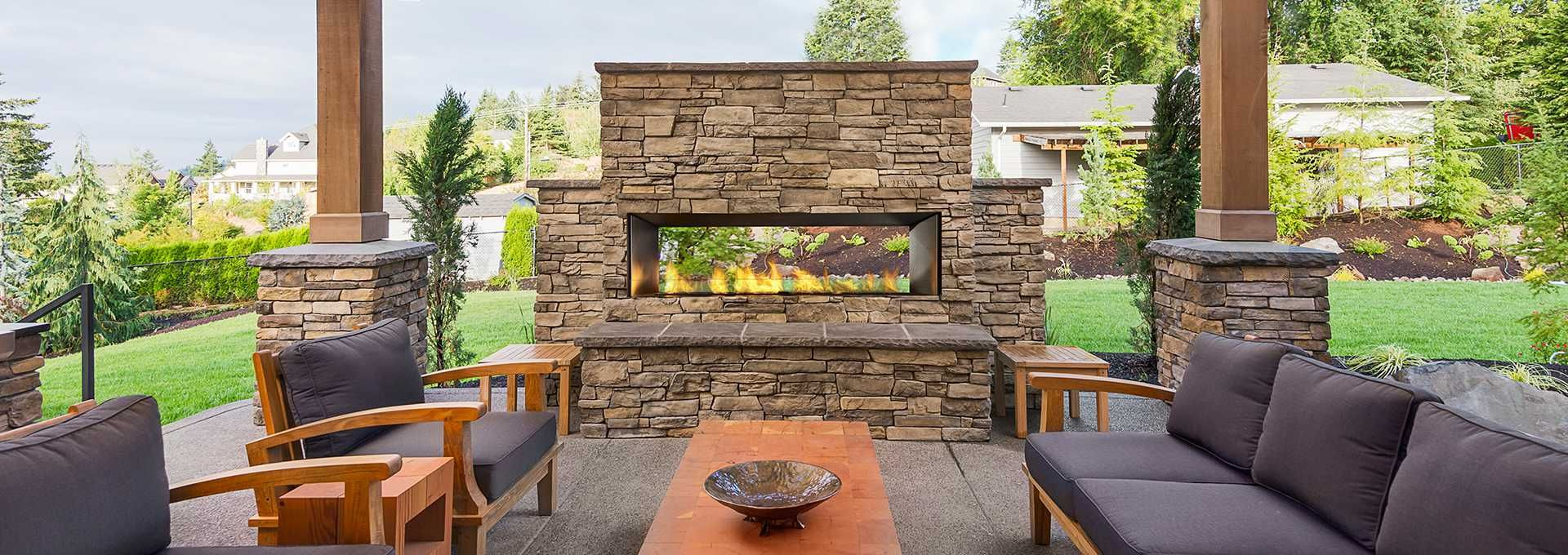 Regency Horizon Hzo60 Outdoor Gas Fireplace With Images
