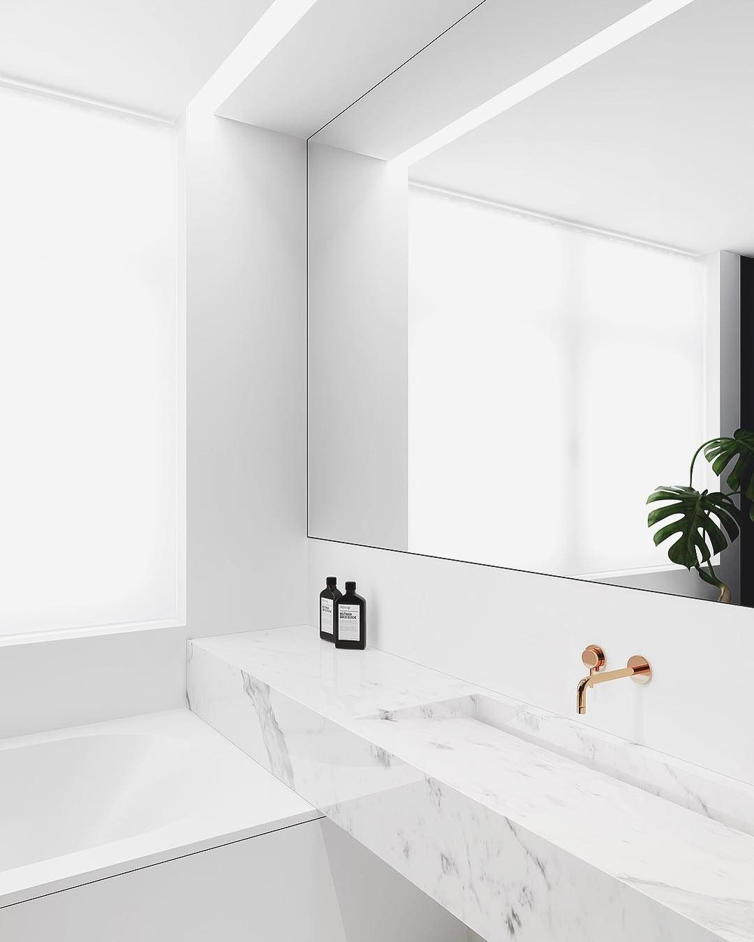 Minimalist Bathroom Counter: Pin από το χρήστη Interior Design A New Vision Of Style