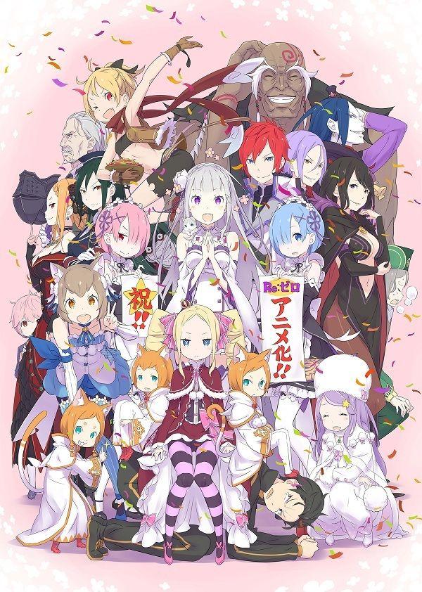 ReZero Tech Center Anime, Manga anime, Kawaii anime