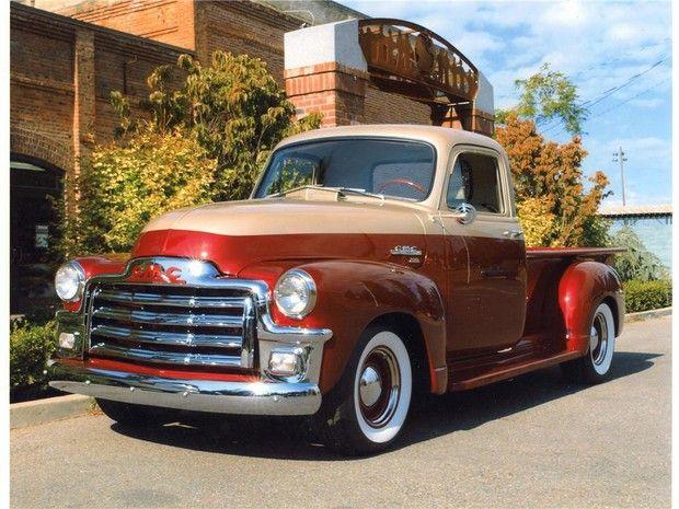 1954 Gmc 100 Custom Pickup Classic Cars Trucks Vintage Pickup