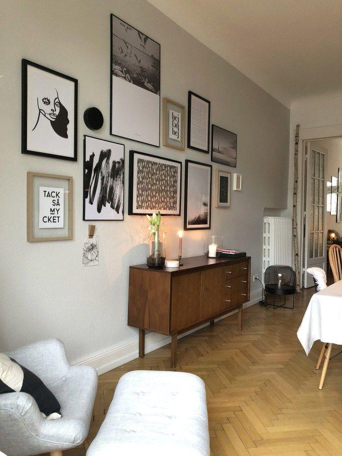 endlich bilder f r meine w nde esszimmer mit neuer. Black Bedroom Furniture Sets. Home Design Ideas
