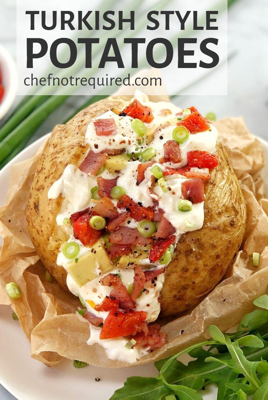 Kumpir Recipe : kumpir, recipe, Kumpir, Turkish, Potatoes, Stuffed, Baked, Potatoes,, Potato