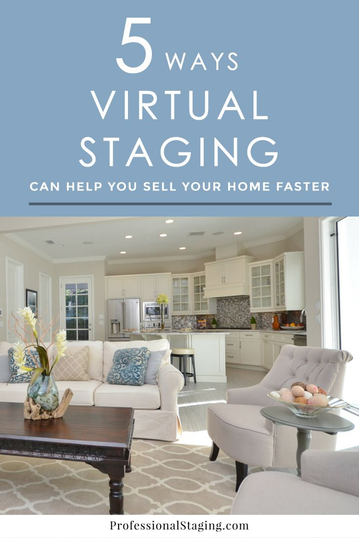 Sell Your Home Faster with Virtual Staging | Stage, Real estate and ...