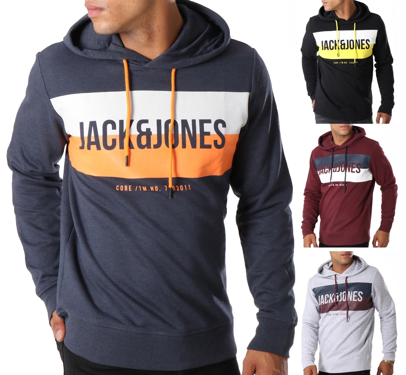 Jack Jones Sweatshirts Ebay Clothes Shoes Accessories Mens Sweatshirts Hoodie Hooded Sweatshirts Mens Sweatshirts [ 1478 x 1600 Pixel ]