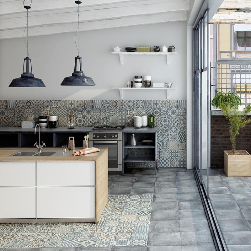 architetto - heritage - grey (mix) 16,5x16,5