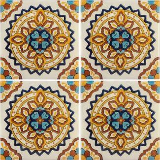Palermo 4 Terra Nova Hacienda Ceramic Tile Ceramic Tiles Art Nouveau Tiles Mosaic Tiles
