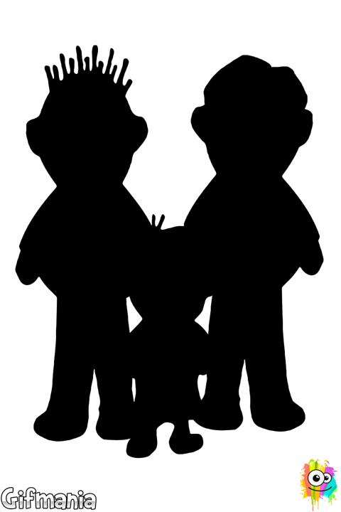 Dibujo De Un Nino Con Dos Papas Para Colorear Ninos Dibujos Para Ninos Papa