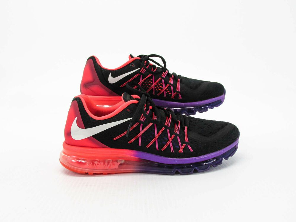 3a499a32 Advertisement)eBay- Nike Air Max Plus 2015 Women Black Athletic ...