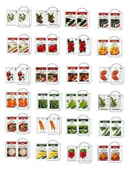 seed packets barbie miniatures
