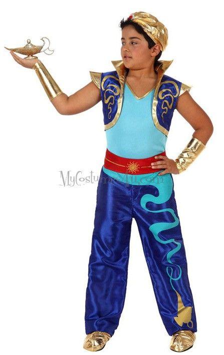 Boy genie imagen 1 del producto genie costume dizcab - La casa de los disfraces sevilla montesierra ...