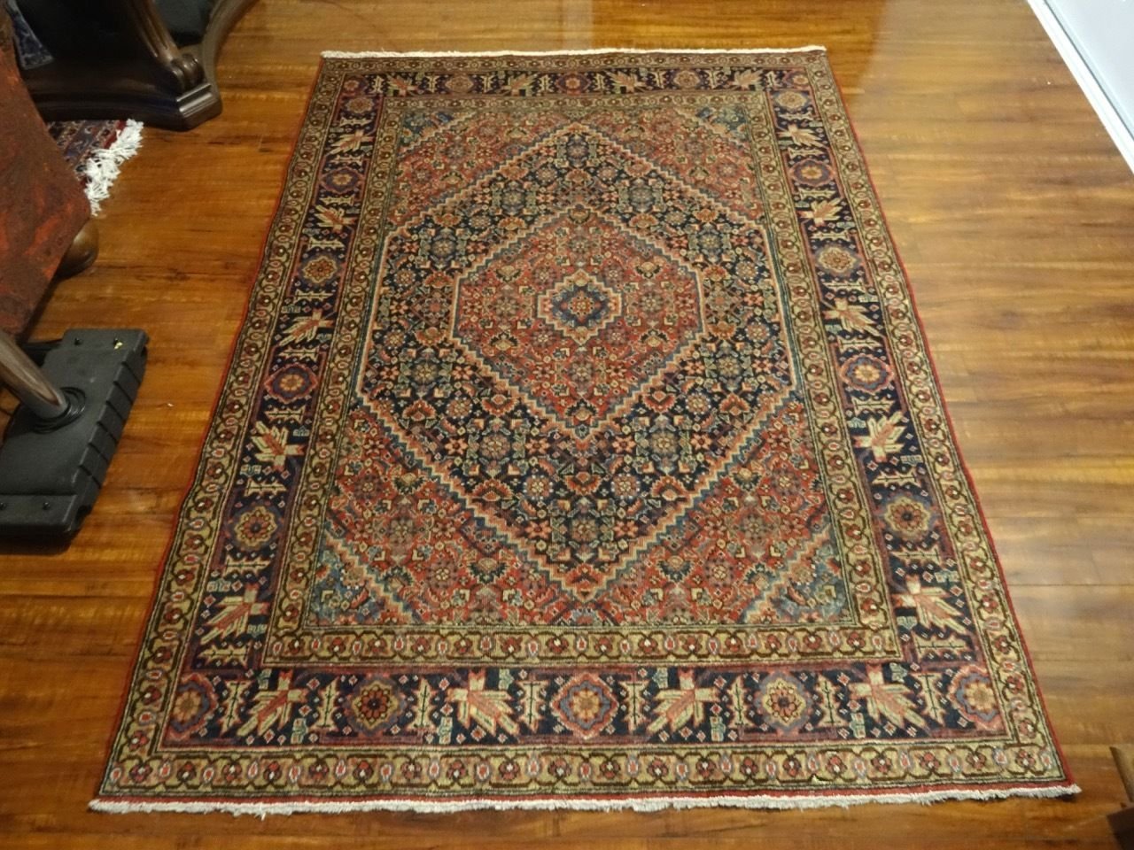 Exquisite Circa 1900 Handmade Hand-knotted Persian Tabriz Rug. Clean Rug, Ready to be Treasured! Excellent Condition for age. Short Even Pile. Amazingly Preserved by Collector! Hand-Spun All Natural Wool Pile and Cotton Foundation. | eBay!