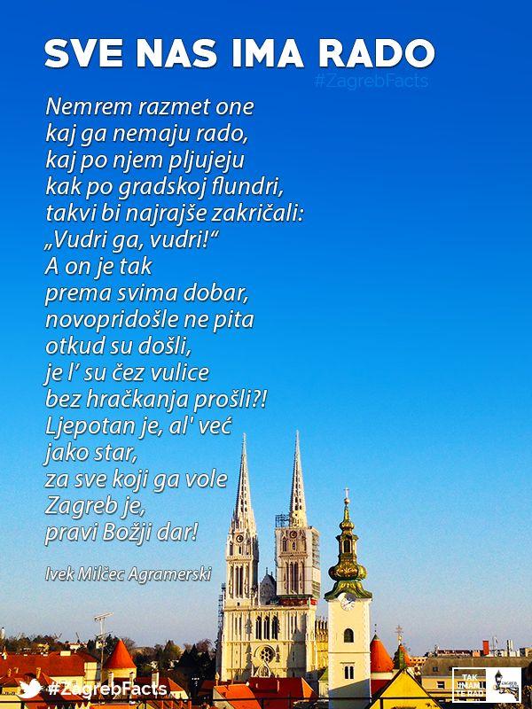 Nemremo Razmeti One Kaj Ga Nemaju Rado Zagrebfacts Zagreb Zg Agram Takimamterad Zagreb Croatia Life